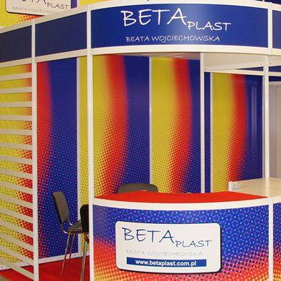 Stoisko targowe dla firmy Beta Plast