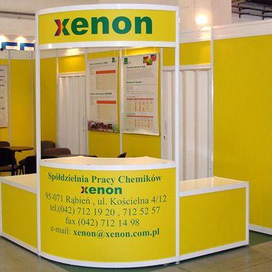 Stoisko targowe dla firmy Xenon