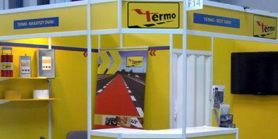 Stoisko targowe dla firmy Termo