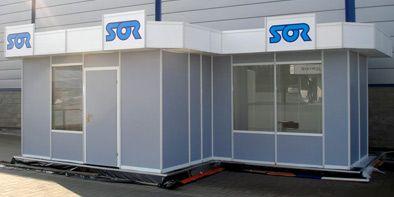 Pawilon targowy dla firmy Sor